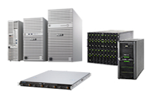サーバ ・NEC Express 5800 ・Fujitsu PRIMERGY ・HP ProLiant 等