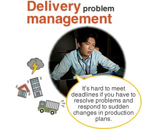 Delivery management problem